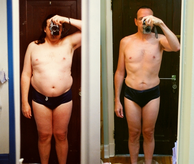 En 2003, 105 kg, et en 2010, 75kg!!!
