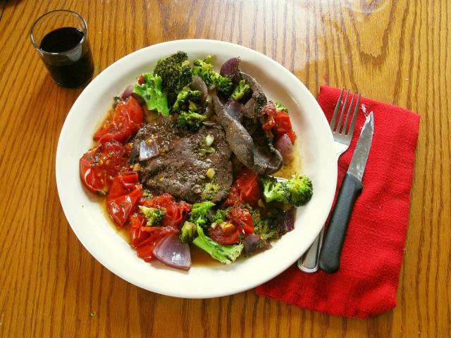 Power Paleo with wine!